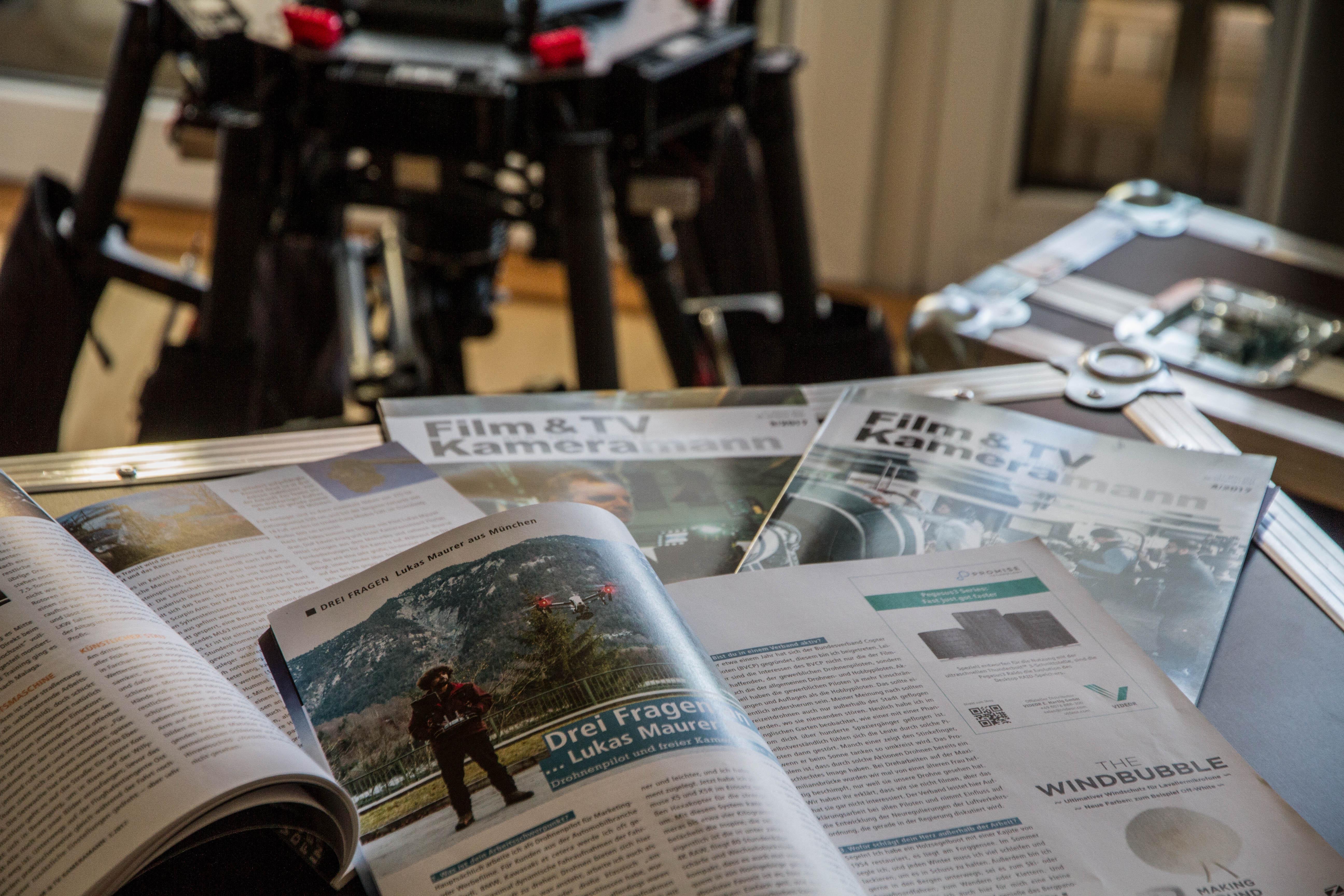 Drohnenpilot Lukas Maurer im Interview Magazin München Luftaufnahmen Drohnenpilot Drohnendienstleister aus München aerial drone team munich bavaria europe