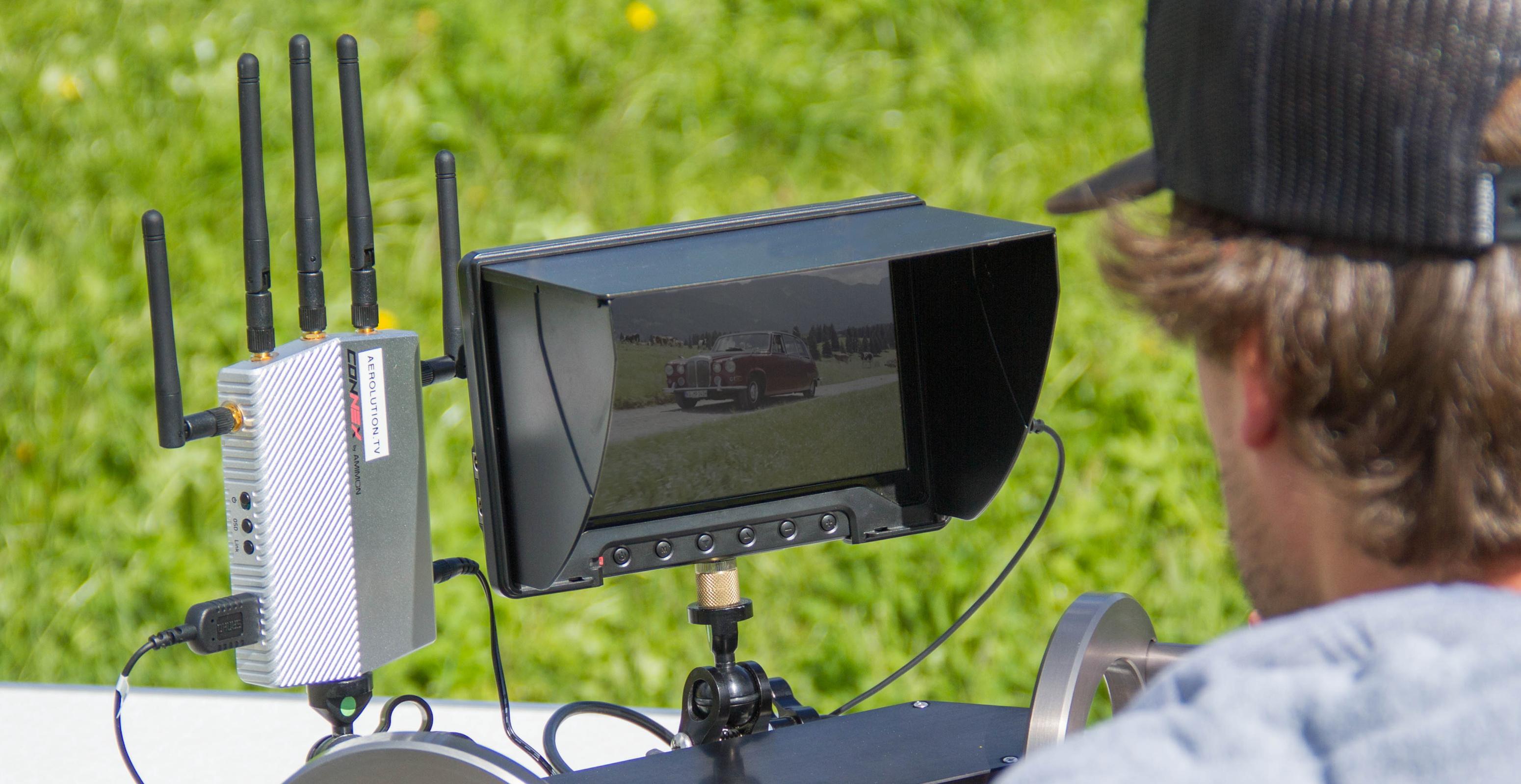 Amimon connex HD aerial munich aerolution.tv drone team