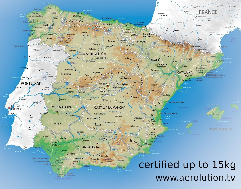 Spanien Drohnenpilot Lizenz Multikopter Filmproduktion aerolution.tv LED Drohne aerial cinematography aerial drone team profi drohnenpilot FAA USA Österreich Kategorie C