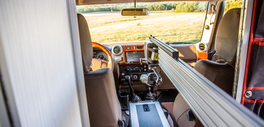 Slider interieur car commercial towercam dji x7 spezialaufnahmen jib arm